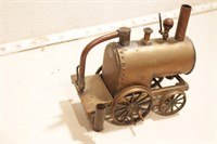 Early 0-4-0 Steam engine handcrafted brass
