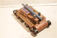 Holgate toys wooden tank