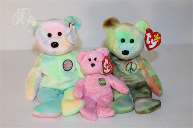 3) VINTAGE BEANIE BABY BEARS Other Items For Sale 1