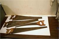 hand saws (4pcs)