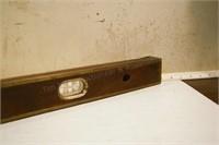 """Brass bound 42"""" level"""