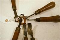 pattern maker's chisels (12pcs)