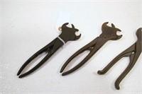 Hog ring pliers (4pcs)