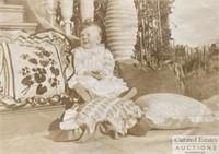 John Steinbeck's baby photos, hair, confirmation