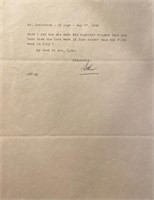 Legal papers to Mr Steinbeck about a lawsuit