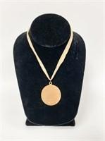 Elaine's Oklahoma Medal from Richard Rodgers