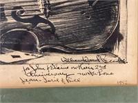 Steinbeck's William Ward Beecher Lithograph