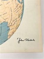 Signed Columbia Viking Desk Encyclopedia
