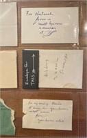 13 Handwritten Love Cards from John to Elaine