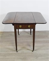 Federal Style Pembroke End Table