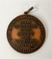 City Entertainment Corp Engraved to John Steinbeck