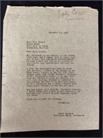 Letter from Ella Howard Sharing a Bad Review