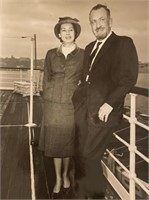 Photo of John and Elaine Steinbeck 1962-1963