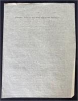 Letter John Steinbeck wrote friend Graham Watson