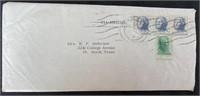 """Original Handwritten """"Dear Ones"""" Letter Dec 2 1963"""