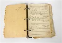 Older address book from John and Elaine