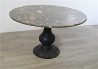 John Steinbeck's Marble Top Cocktail Table