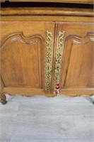 French Provincial Style Cabinet