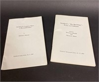 Steinbeck Newsletters and other Literature