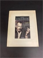 Eleven Mock ups of Steinbeck Book Covers