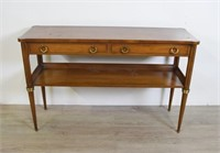 Baker Empire Style Console Table