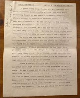 Short Article by John Steinbeck for Sons School