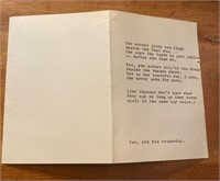 """Sea Slugs"" Poem by John Steinbeck"