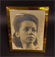 Framed Portrait of Elaine Steinbeck