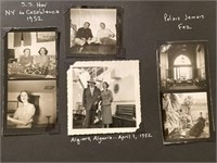 43 Photos from Algiers to Spain April 1952