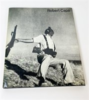 Two Robert Capa Books and Letter from Cornell Capa