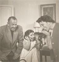 7 Photos John and Elaine Steinbeck - Spain 1954
