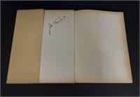John Steinbeck signed Merchants & Companies