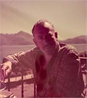Seven Color Transparencies of Steinbeck Sailing