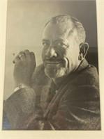 John Steinbeck Photo signed William Ward Beecher