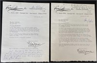 Letter to a Photographer in Steinbecks Hand 1-1963