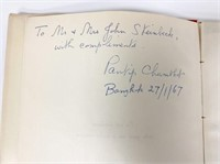 Lacquer Pavilion Signed to Steinbecks Chumbhot