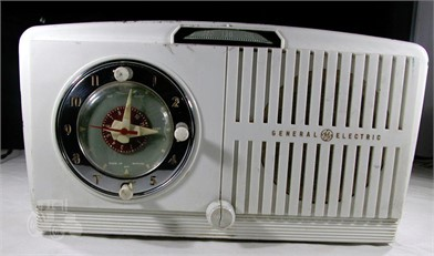 1950'S G E RADIO WITH CLOCK AND ALARM WORKS Other Items For ... on
