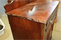 "Antique Sideboard, 42"" x 22"" x 54""h"