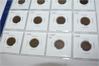Large & Small Canadian Pennies