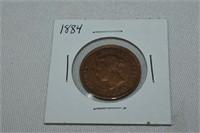 1884 Large Cent