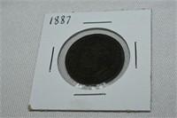 1887 Large Cent