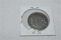 1940 Canadian 50-Cent Piece