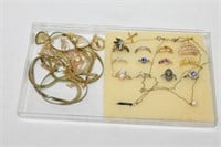 Assorted Jewelry (Some are Stamped)