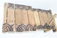 Vintage Marimba African Xylophone