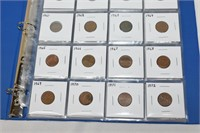 Incomplete Penny Collection