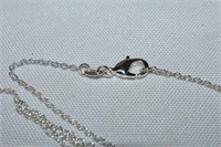 """Necklace Stamped 925 24"""" Long"""