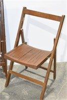 (5) Folding Chairs (Some Imperfect)