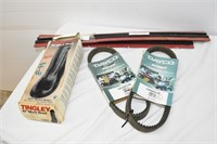 Outdoor Activity Belts, Overshoes & Squeegees
