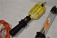 Trouble Light and Cordless Work Light with Charger