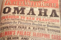 Poster - Union Pacific Platte Valley Route